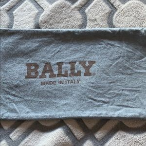 Bally Shoes Bag in light blue, 2 pieces